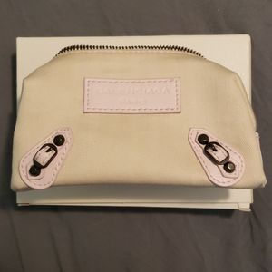 Balenciaga cosmetic pouch